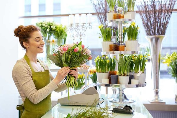 flower business images and visual marketing